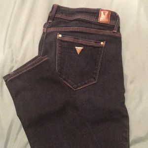 Guess low rise skinny